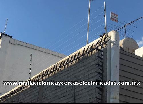 Cercas electrificadas en el df cdmx estado de mexico - Proteccion para casas ...